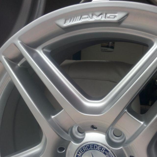 BENZ W204 AMG 18吋 鋁圈 C250 前後配鋁圈 W205 W212直上 4個30000