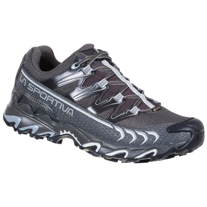 LA SPORTIVA 女 Ultra Raptor GTX 防水透氣越野跑鞋 登山鞋 炭黑/雲灰 26S900907