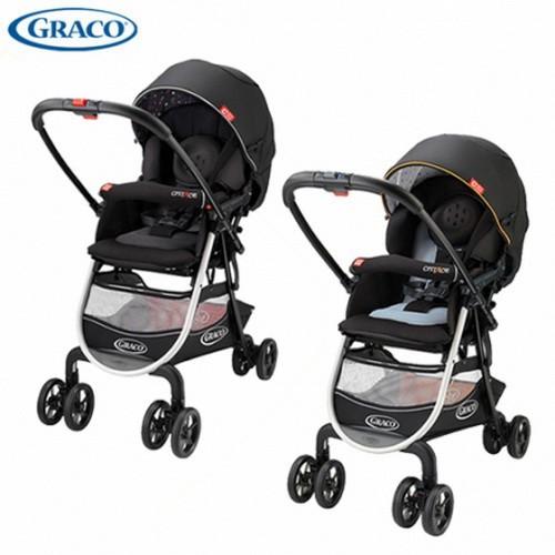 GRACO-城市商旅 CITIACE CTS 購物型雙向嬰幼兒手推車-小花朵/小珍珠