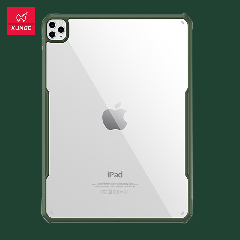 XUNDD訊迪2021新款ipad pro11保護套 硅膠全包邊防摔透明2020pro11寸保護殼空壓殼
