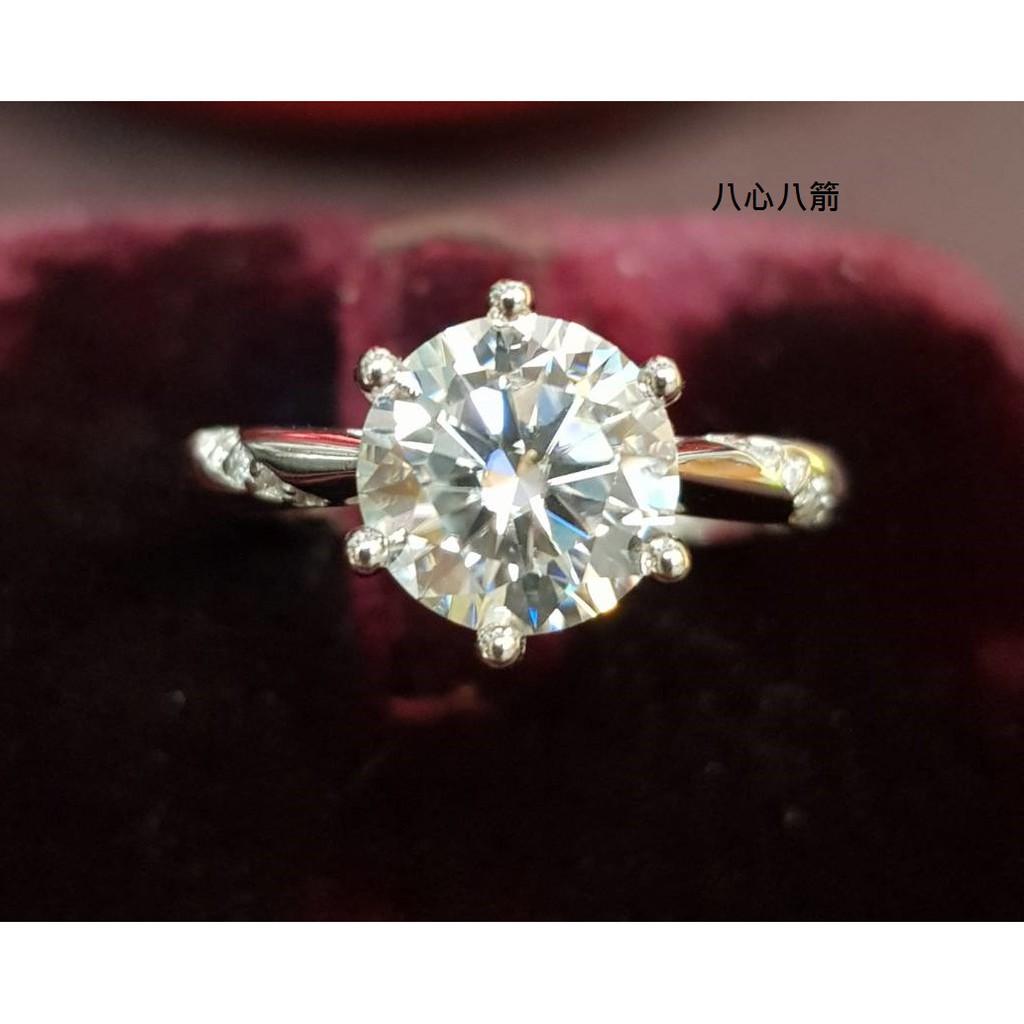 [金年春金仔店] GRA-52800725 鑽石 莫桑石 S925 女戒 鑽石戒指 戒指 鑽戒 尾戒 克拉-鑽戒