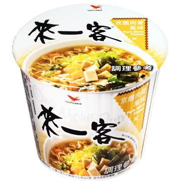 來一客杯麵_京燉肉骨風味12入一箱(一箱一單)