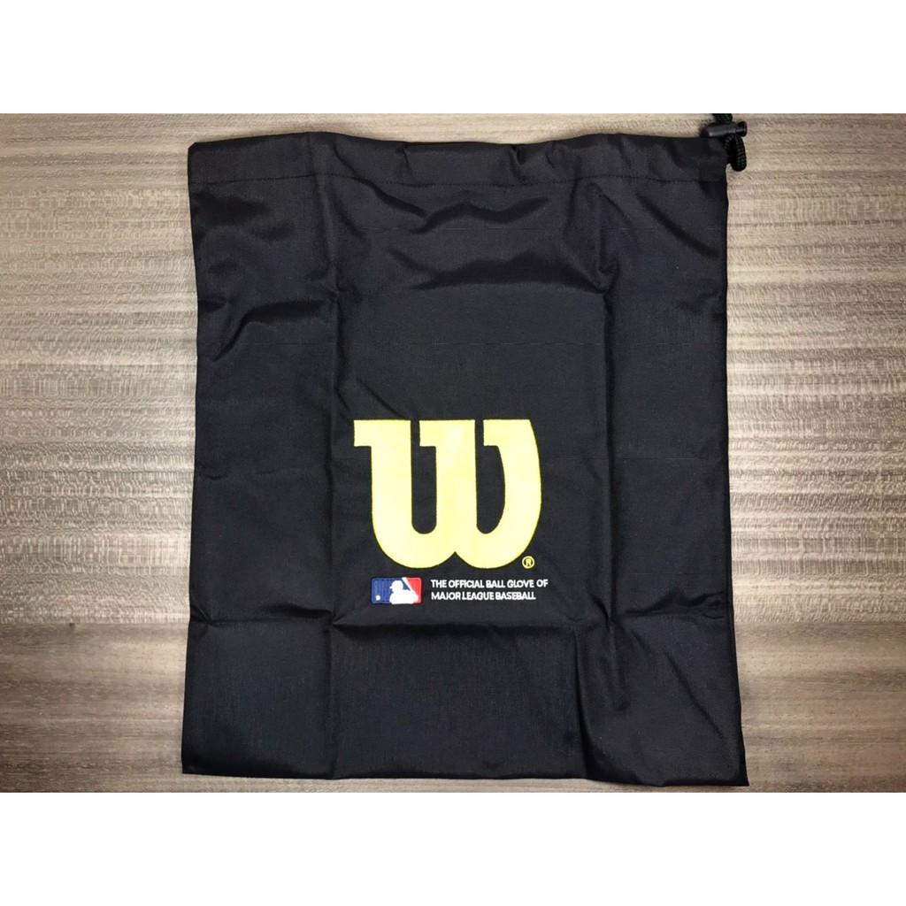威爾森 Wilson 棒壘球 背袋 束口袋 手套防塵袋 簡易防潑水 WTAB15330N00 超值特價