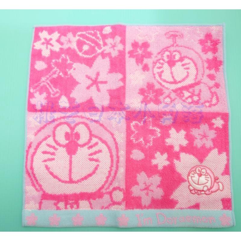 哆啦a夢 手巾 小方巾 手帕 小毛巾