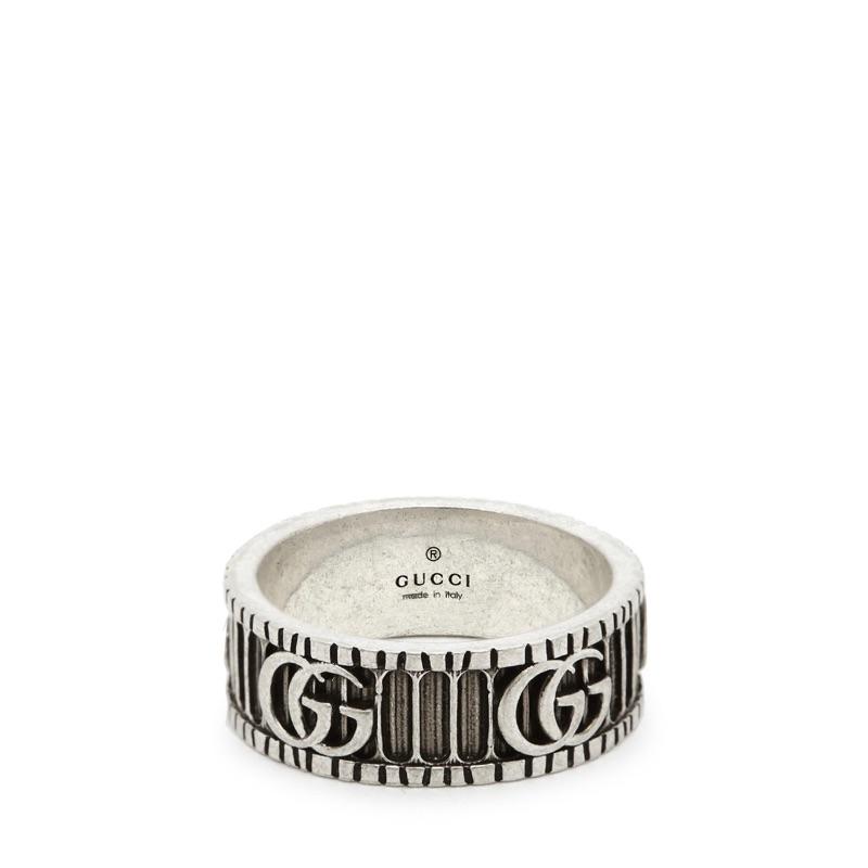 ASCE   Gucci Marmont 金屬色銀戒指