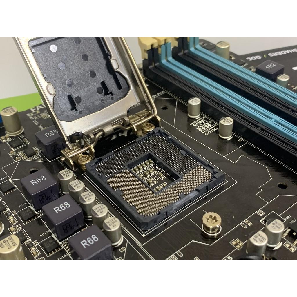 B75M PLUS 華碩 1155腳位主機板(i5 3470、i5 3570、i7 3770可用)