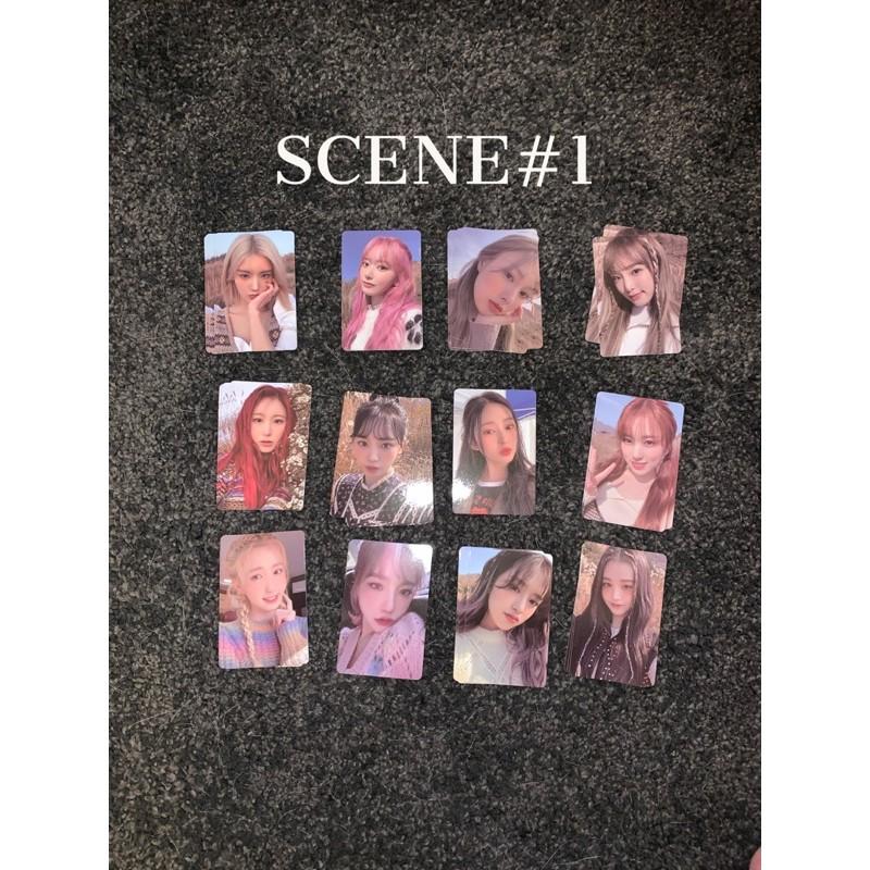 [台灣現貨]IZ*ONE 4th mini專輯 scene#1/ scene#3簽售卡(單賣)