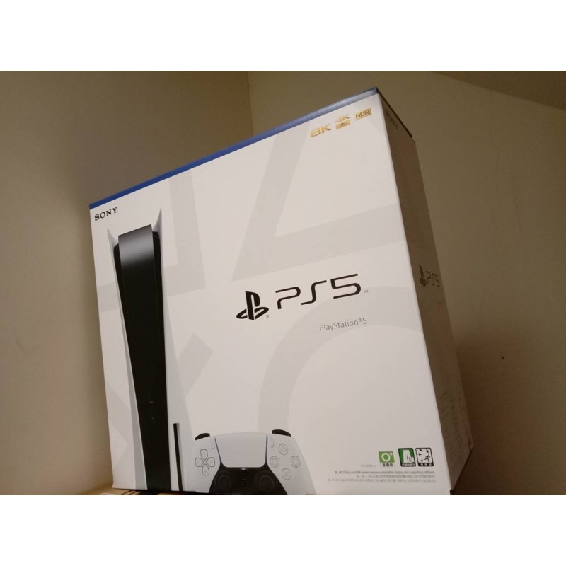 SONY PS5光碟版主機台灣公司貨全新,現貨