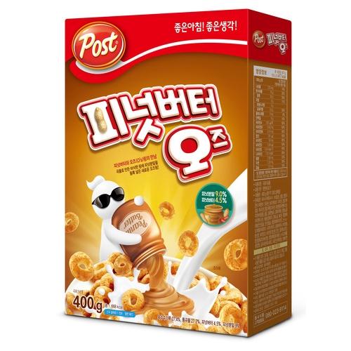 [韓國直送][POST] 花生醬麥片 400g
