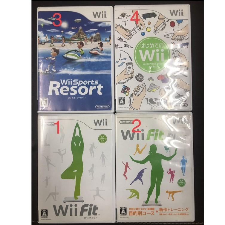 日本帶回 Wii 正版遊戲 FIT PLUS Soprts Resort 度假勝地 第一次接觸 FitPlus 渡假勝地