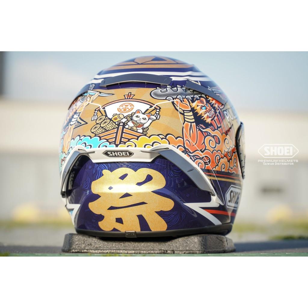 【SHOEI 日本品牌】台中倉儲 X-14 祭典帽 選手彩繪 全罩帽