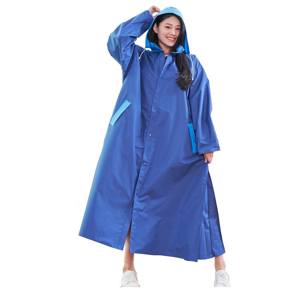 【台灣雨之情】時尚高機能風雨衣,側邊加寬上下車方便不卡卡, 拚色搭配共3色 (SGS檢驗合格)