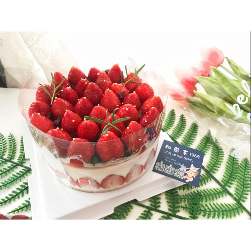 #大湖草莓 #爆量草莓 生乳酪蛋糕6吋