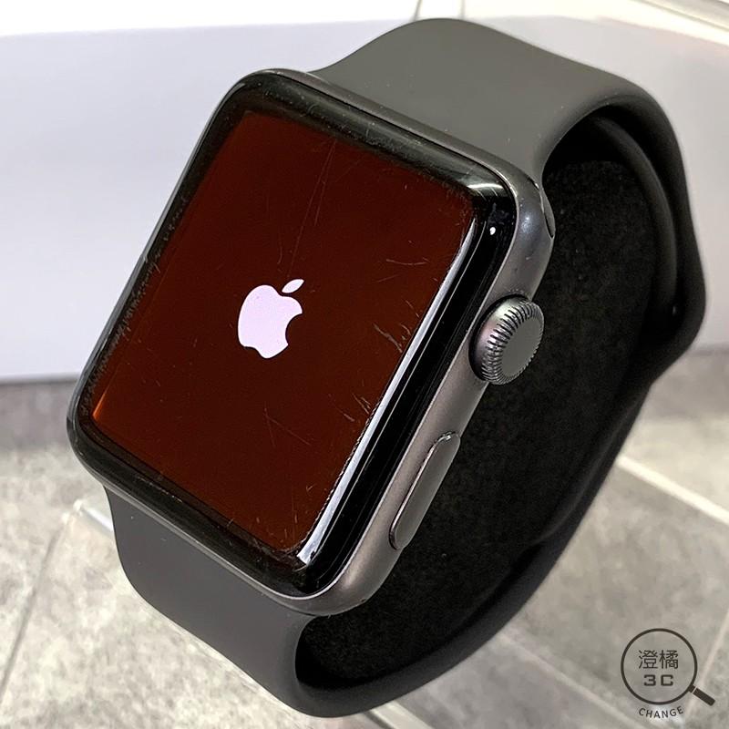 『澄橘』Apple Watch Series 3 3代 42mm GPS 灰鋁框 灰運動錶帶《二手 中古》A50790