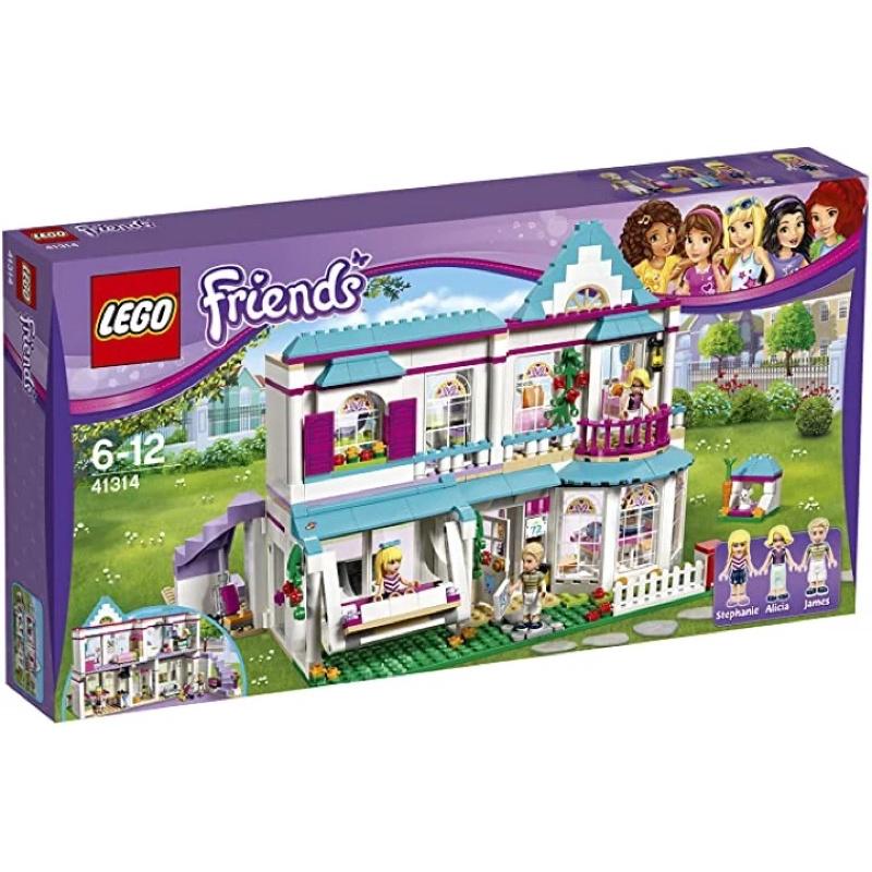 LEGO 樂高 LEGO 好朋友系列 斯蒂芬妮的家 41314