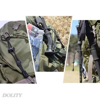 [Dolity] 2 件背包遠足手杖架可調節彈性繩