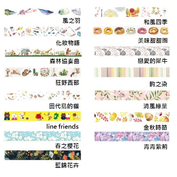 【CHL】BentotoHouse 和紙膠帶 紙膠帶