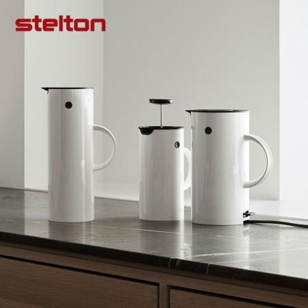 Stelton EM77北歐啄木鳥保溫壺熱水瓶家用玻璃內膽暖水壺