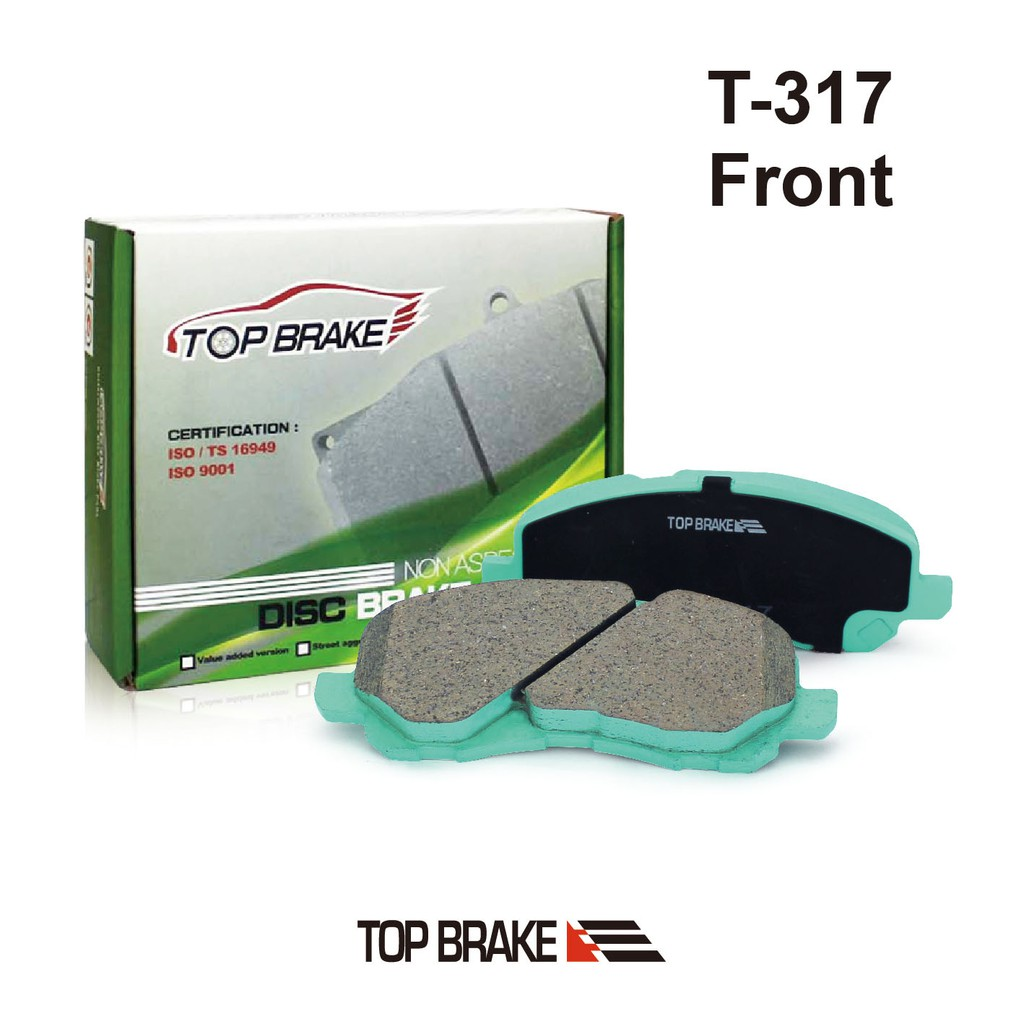 TOPBRAKE 三菱 Outlander Fortis Savrin 汽車前碟煞車來令片-特約店免安裝費 T-317