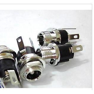 DC-021 金屬電源座 DC插座 直流電源介面插座 5.5-2.1MM DC-025M D