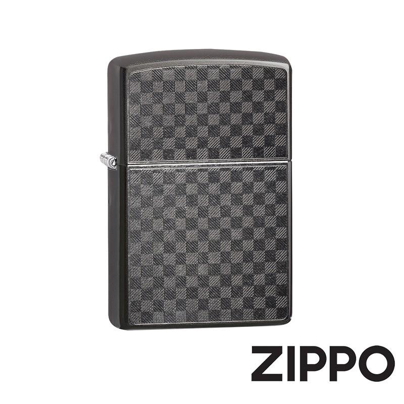 ZIPPO 碳纖維設計防風打火機 美國設計 29823