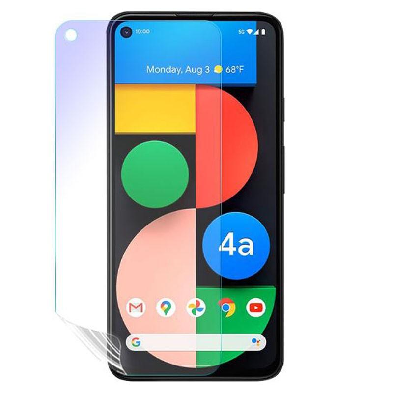 Google Pixel 4a (5G)『護眼螢膜』滿版全膠抗藍光螢幕保護貼(免運費+加贈LED燈泡一顆)