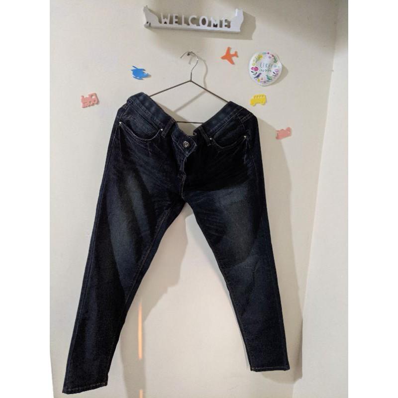 全新💛La new刷色涼感牛仔褲