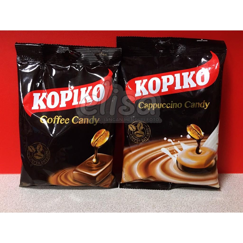 KOPIKO PERMEN KOPI ASLI COFFEE / CAPPUCCINO CANDY 咖啡糖/咖啡牛奶糖果