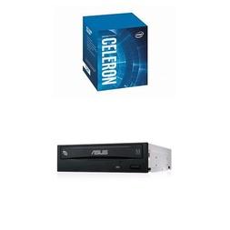 【曜買電腦&CPU】Intel Celeron G4930【2核/2緒】+華碩 24XSATA(黑)燒錄器