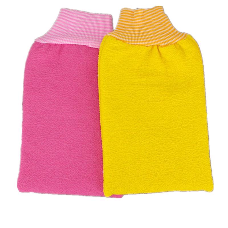 搓澡巾 雙面長條拉背巾 韓國加厚強力搓澡巾 雙層搓泥去角質女士細紗柔軟