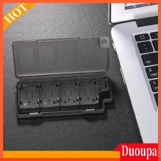 8合1存儲卡夾遊戲卡收納盒,用於Ninend Switch