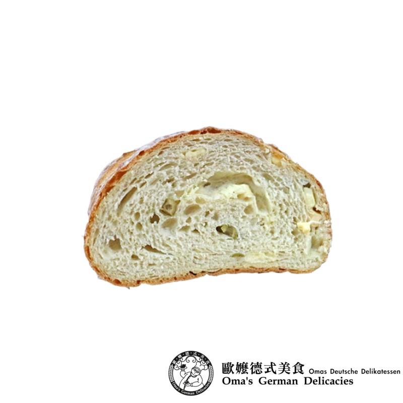 【歐嬤】低油無糖綠橄欖起士大農夫麵包