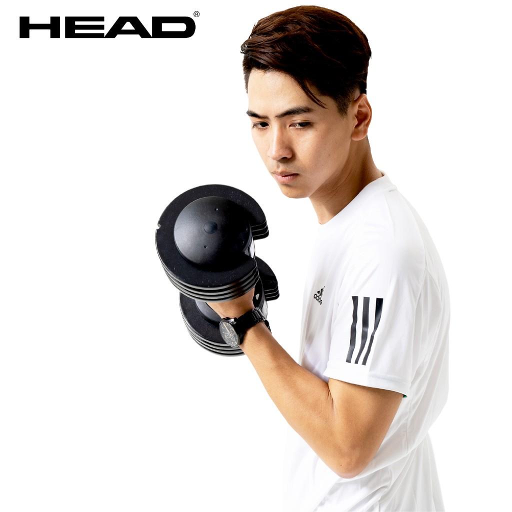 HEAD海德 快速可調式啞鈴 25lbs(單支裝/11kg) 重量訓練 重訓 舉重