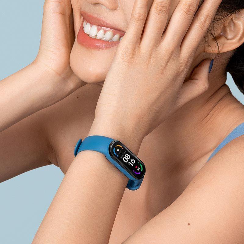 小米手環6 標準版 小米手環5 血氧檢測 小米手環 台灣保固一年 繁體中文 小米手環4小米手環6NFC版智能血氧心率監測
