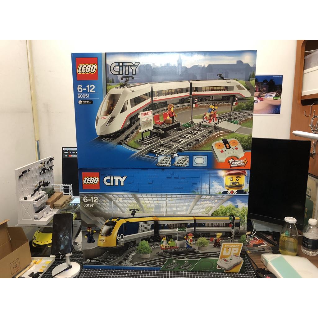 絕版 LEGO 樂高 CITY 城市系列 60197 60051 客運列車 Passenger Train