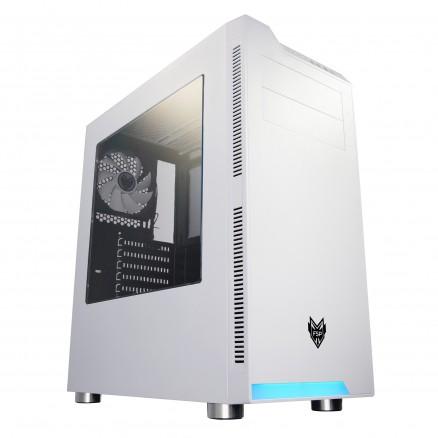 😀【歡迎議價】FSP 全漢 CMT240(W) 炫鬥士 (白) 電腦機殼 客製化組裝 零組件服務