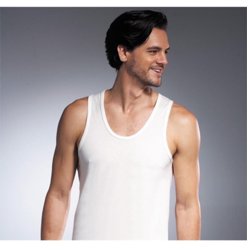 【DADADO】基礎系列 PIMA棉 M-LL窄邊背心內衣(白)
