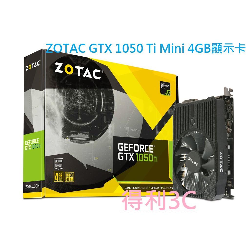 【免運】 ZOTAC GeForceGTX 1050 Ti Mini 顯示卡 1050TI GTX1050TI