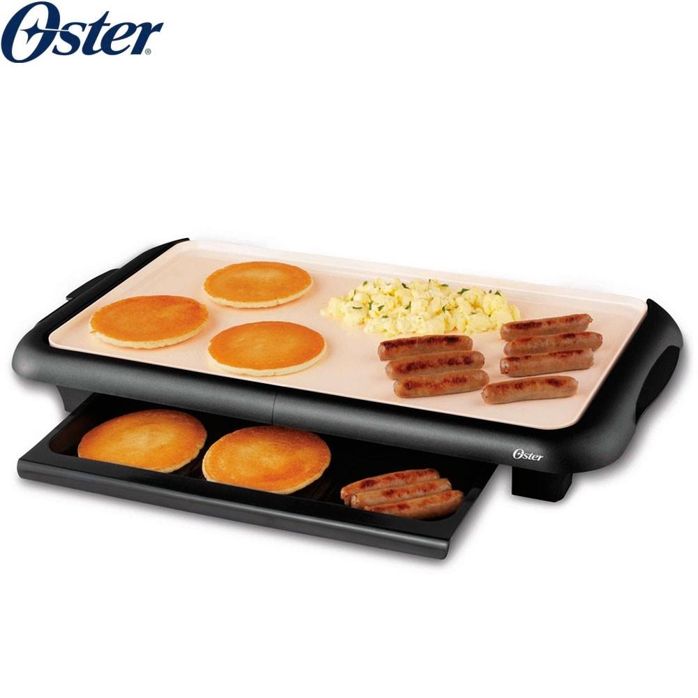 美國Oster CKSTGRFM18W 陶瓷電烤盤 大尺寸烤盤