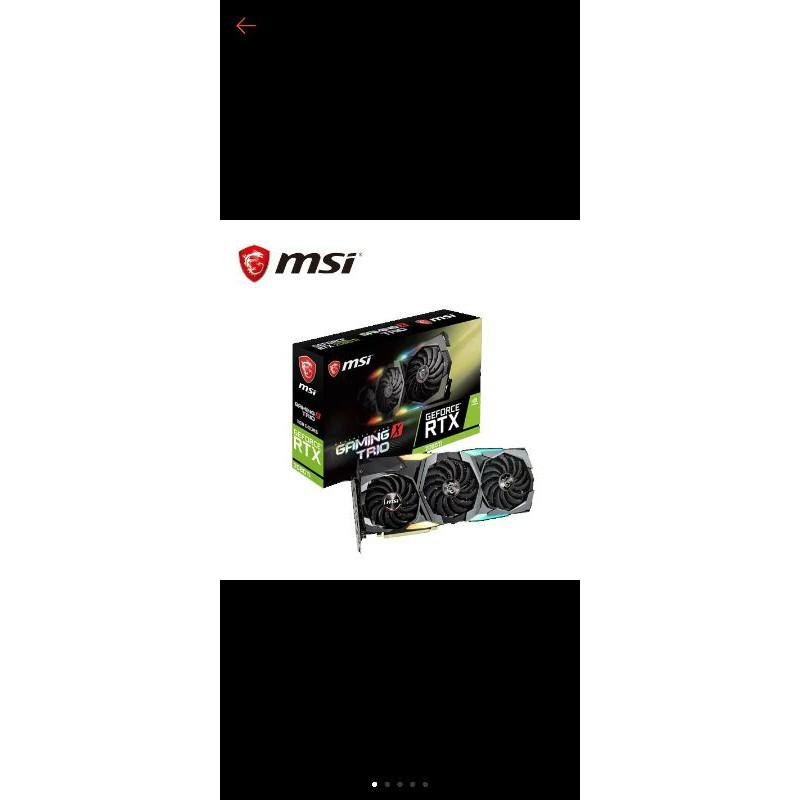 二手 msi Geforce RTX 2080TI Gaming x trio