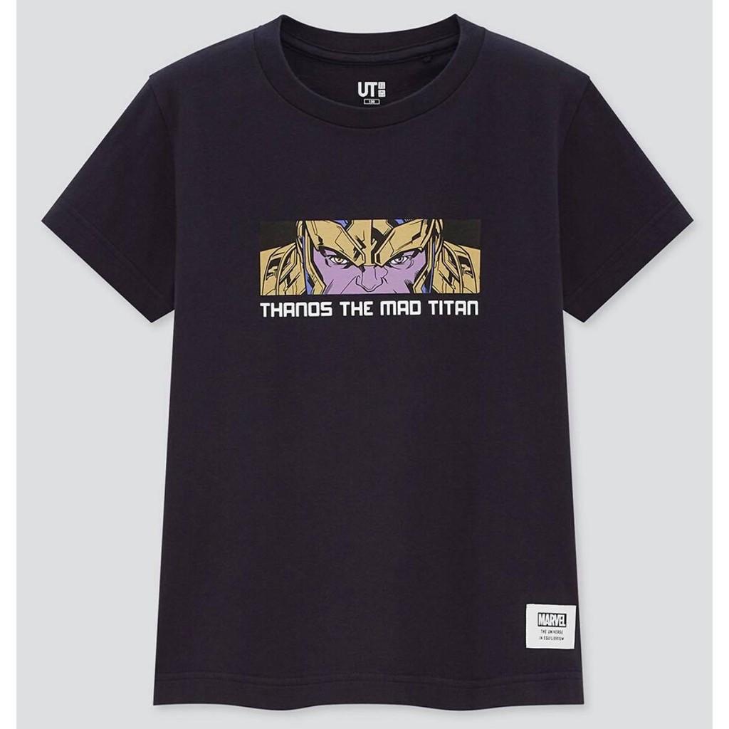 UNIQLO童裝MARVEL聯名 T恤