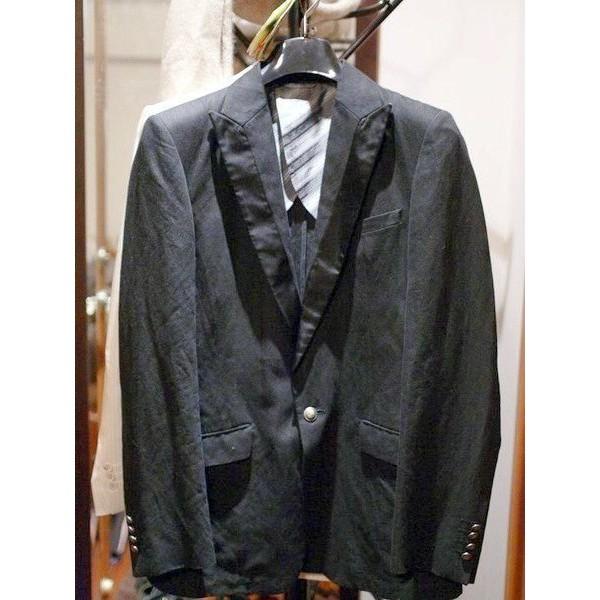 100%真品 日本Comme Ca Collection 黑色劍領單扣西裝外套 COMME CA DU MODE MEN