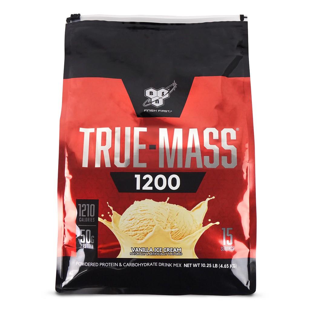 BSN美國畢斯恩 Truemass 1200 高熱量乳清蛋白 10磅袋裝 健身重訓高蛋白 宙斯健身網
