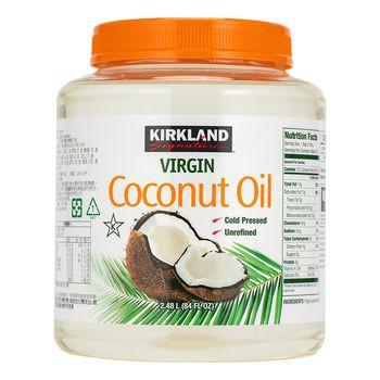 Costco 好市多線上購(直寄已含運) Kirkland Signature 科克蘭 冷壓初榨椰子油 2381 公克