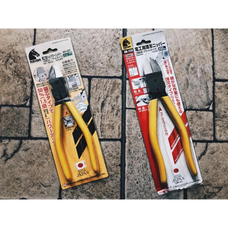 KEIBA 日本 馬牌 電工專用 偏心省力 薄刃斜口鉗 NH-227/NH-228