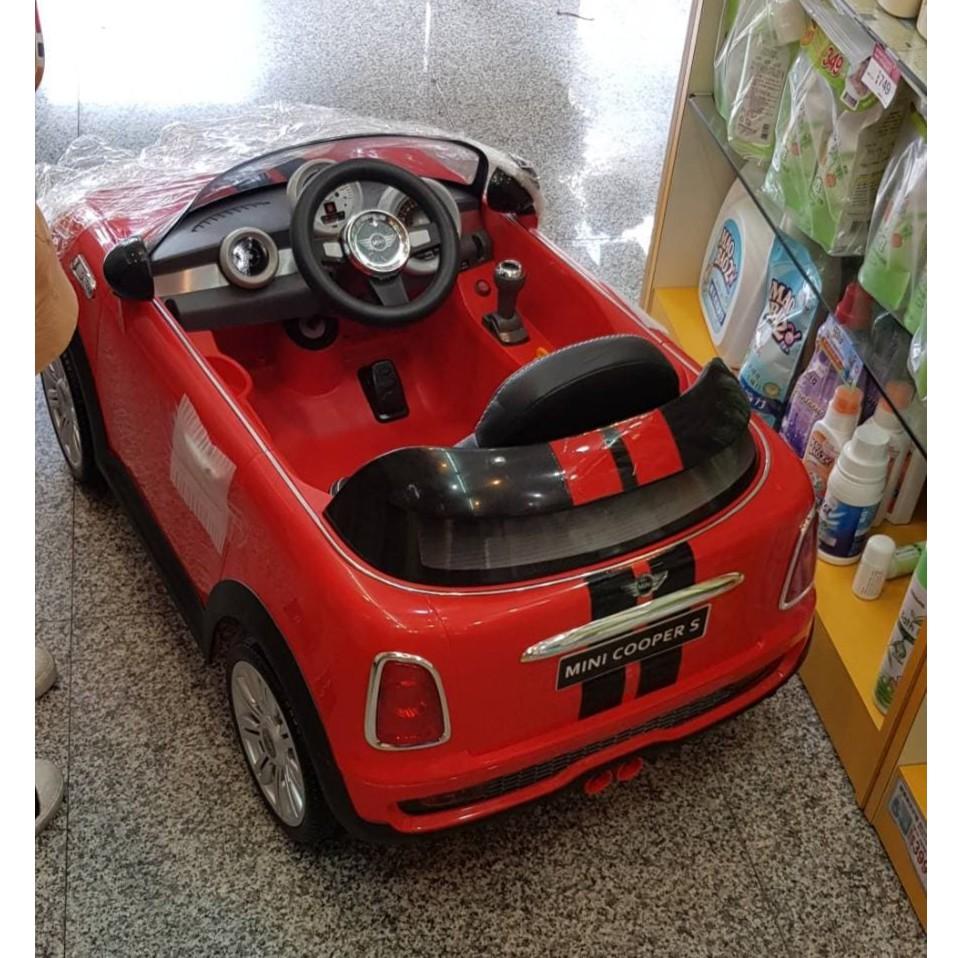 mini cooper電動車(紅)