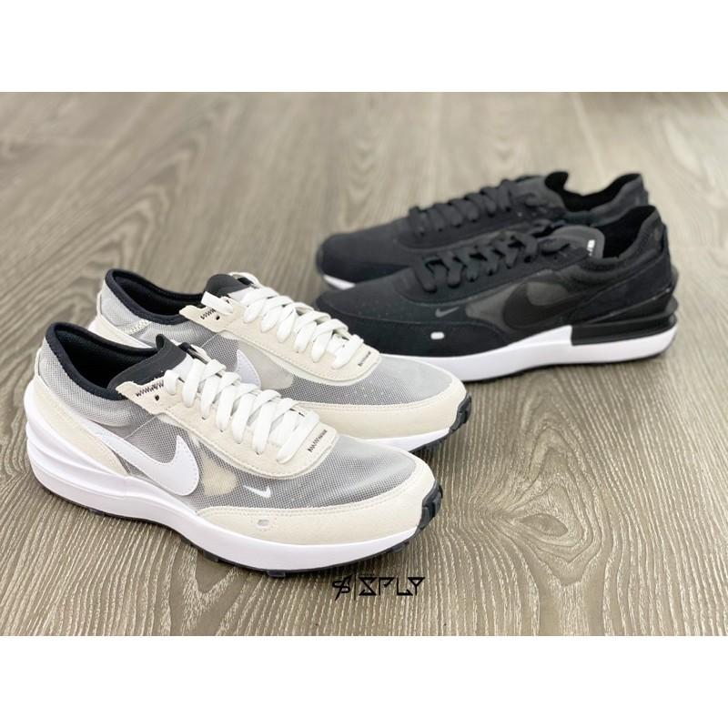 【Fashion SPLY】NIKE WAFFLE ONE 灰白/ 黑白 平民版Sacai DC0481-100