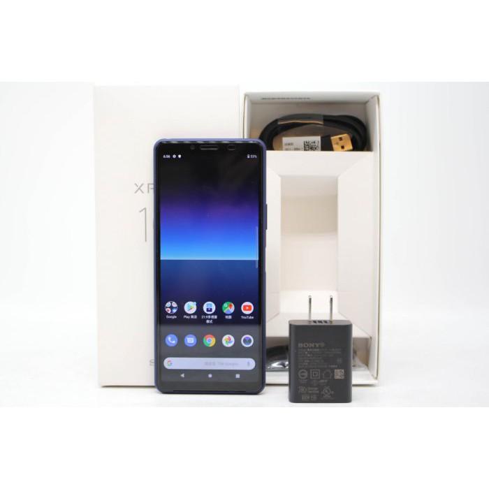 【高雄青蘋果3C】Sony Xperia 10 II XQ-AU52 128G 128GB 藍 二手手機 #53215