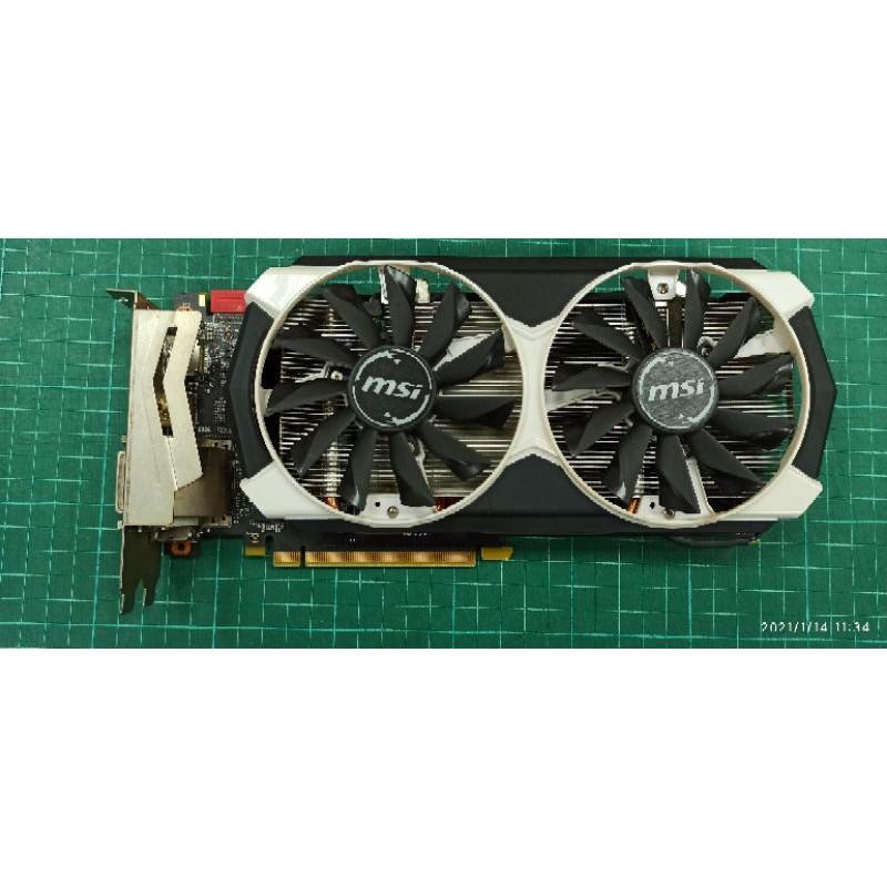 微星 MSI GTX960 2G DDR5 顯示卡