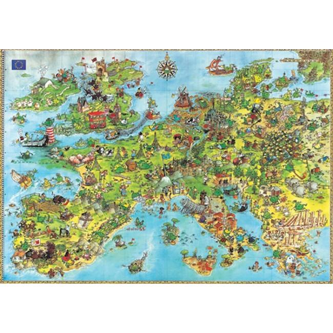 (現貨)德國HEYE拼圖---歐洲龍(4000片)8854
